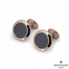 Patek Philippe Rose Gold Calatrava Cufflinks